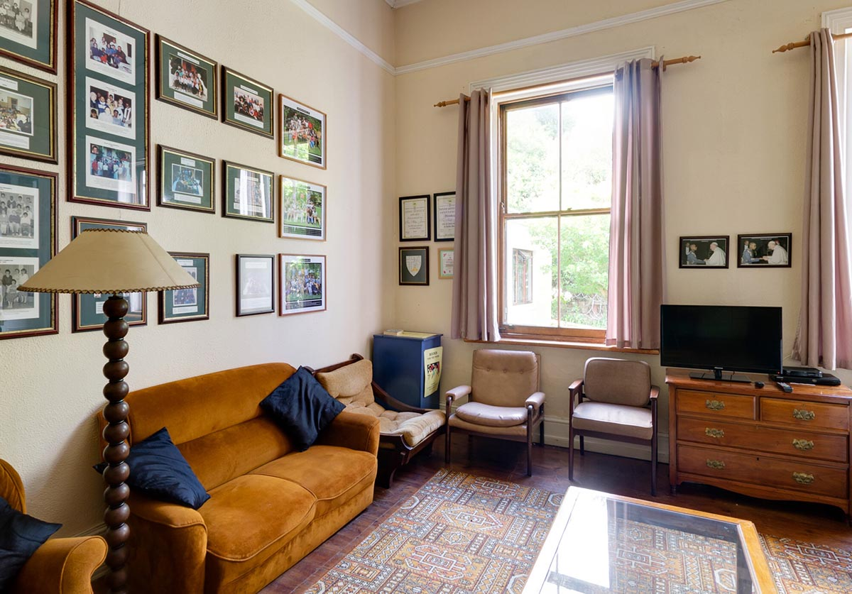 Kolbe House lounge