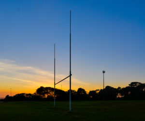 Rugby field UCT